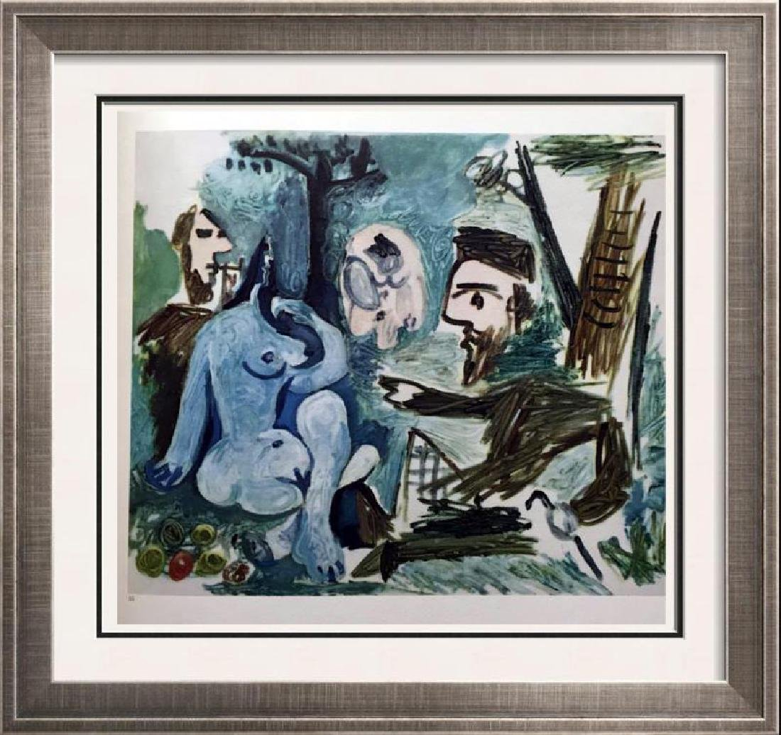 Pablo Picasso Double Sided Black & White & Full Color