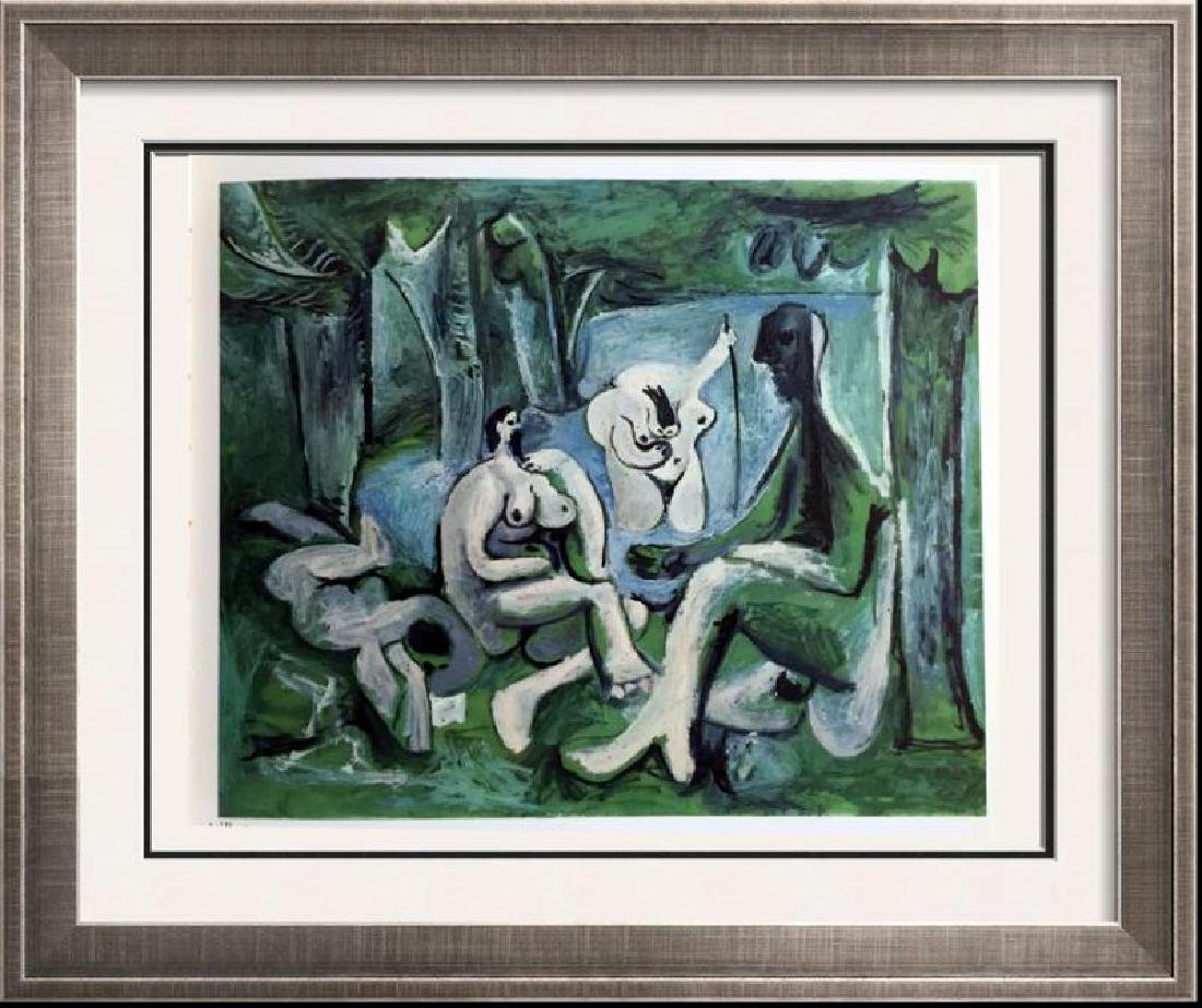 Pablo Picasso Double Sided Full Color Print #