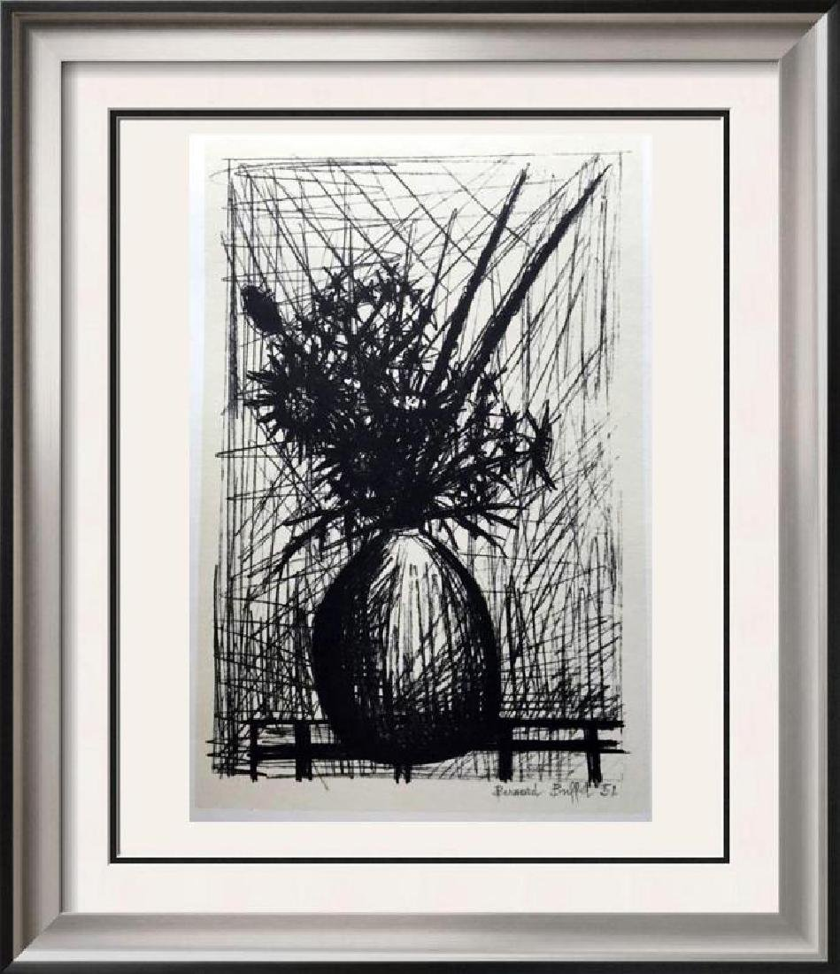 Bernard Buffet Thistles Full Color Print, Executed in
