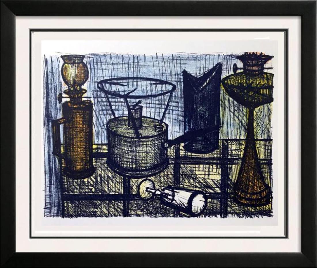 Bernard Buffet The Oil-Lamp Full Color Print, Executed