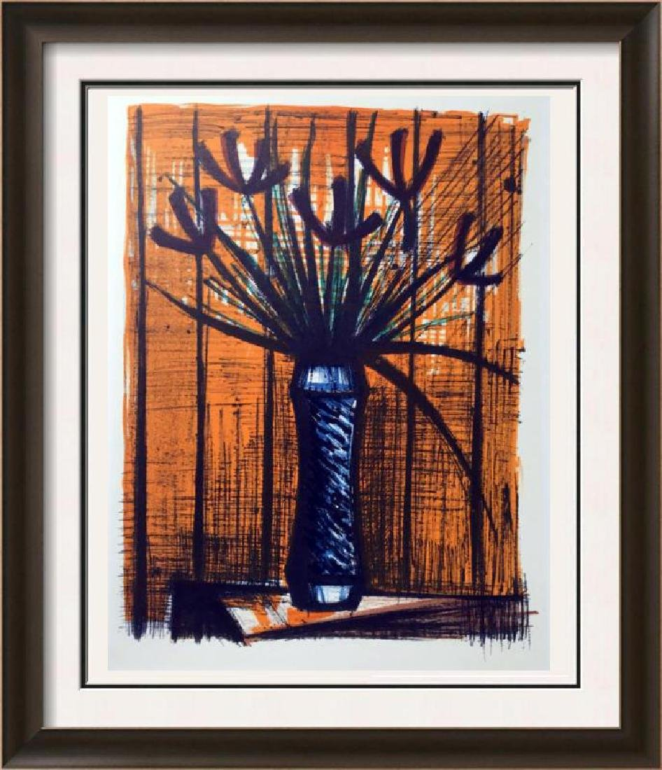 Bernard Buffet Irises Full Color Print, Executed in