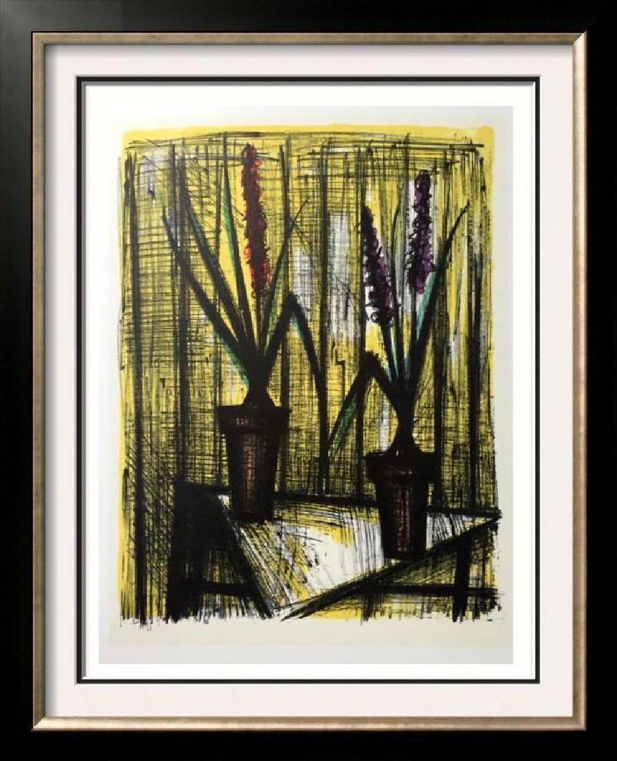 Bernard Buffet Hyacinths Full Color Print, Executed in