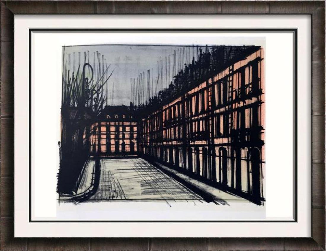 Bernard Buffet Paris La Place des Vosges Full Color