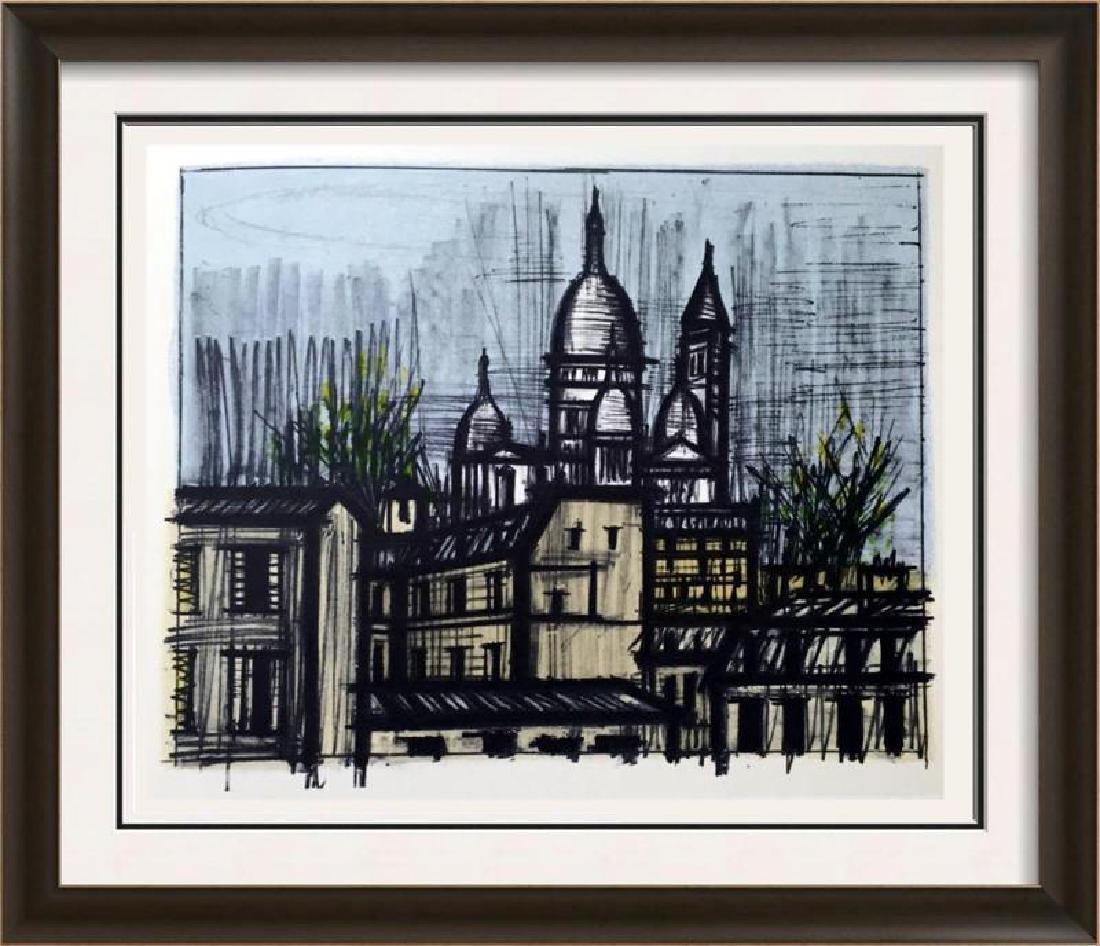Bernard Buffet Paris Le Sacre-Coeur Full Color Print,