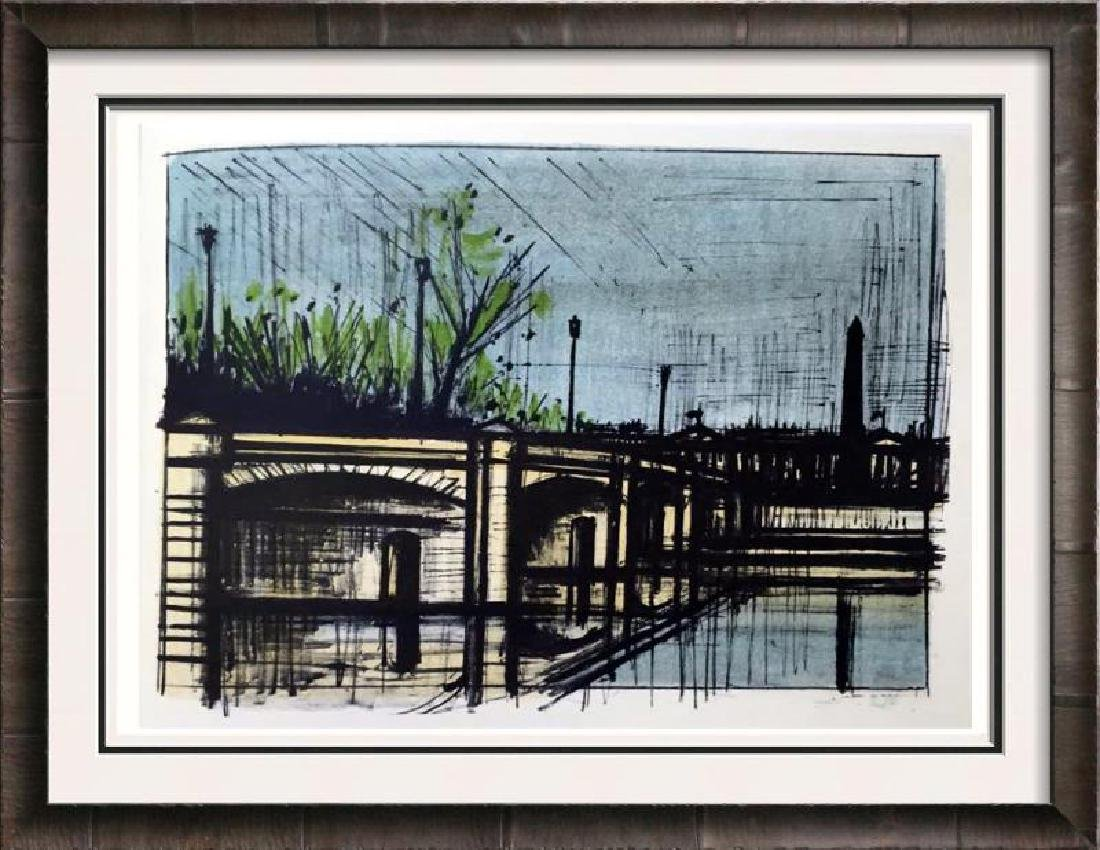 Bernard Buffet Paris Le Pont de la Concorde Full Color