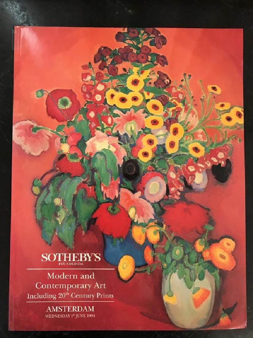"Sotheby's ""Modern & Contemporary Art"""