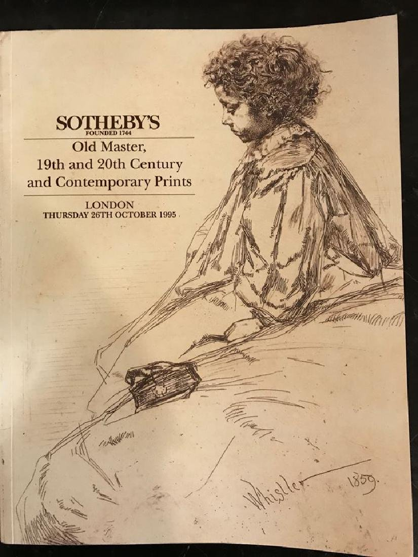 """Sotheby's """"Old Master, 19th & 20th Century &"""