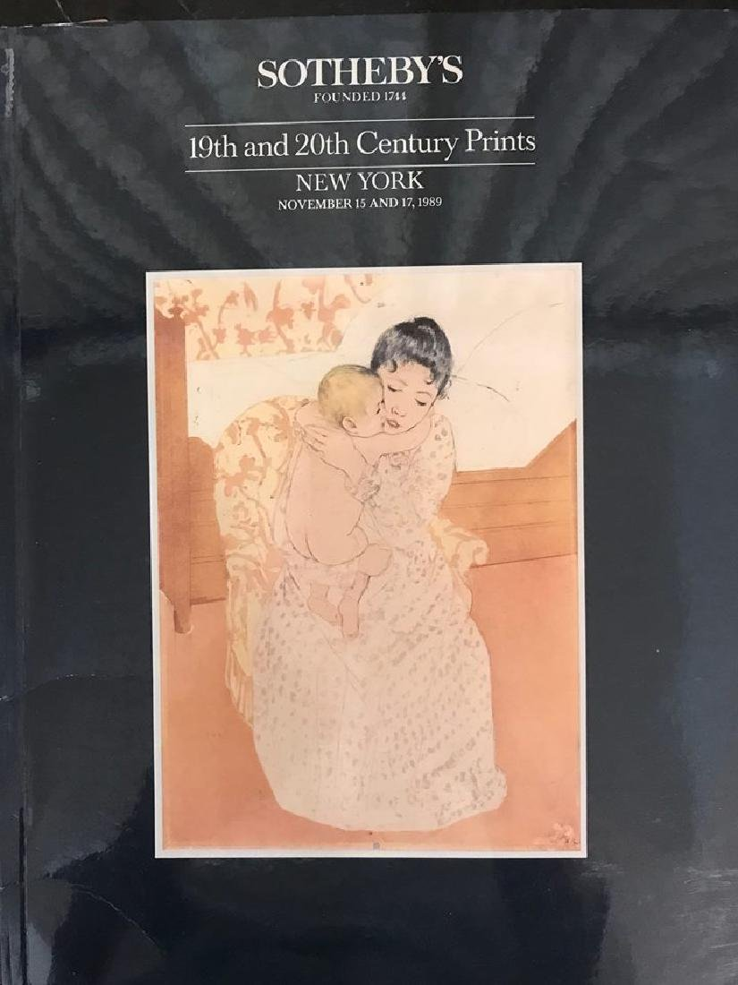"Sotheby's ""19th & 20th Century Prints"""