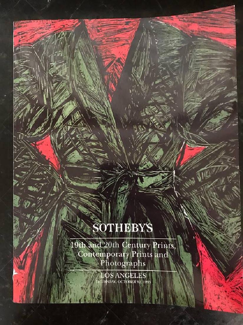 "Sotheby's ""19th & 20th Century Prints, Contemporary"