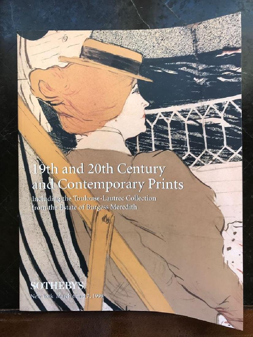 "Sotheby's ""19th & 20th Century & Contemporary Prints"""