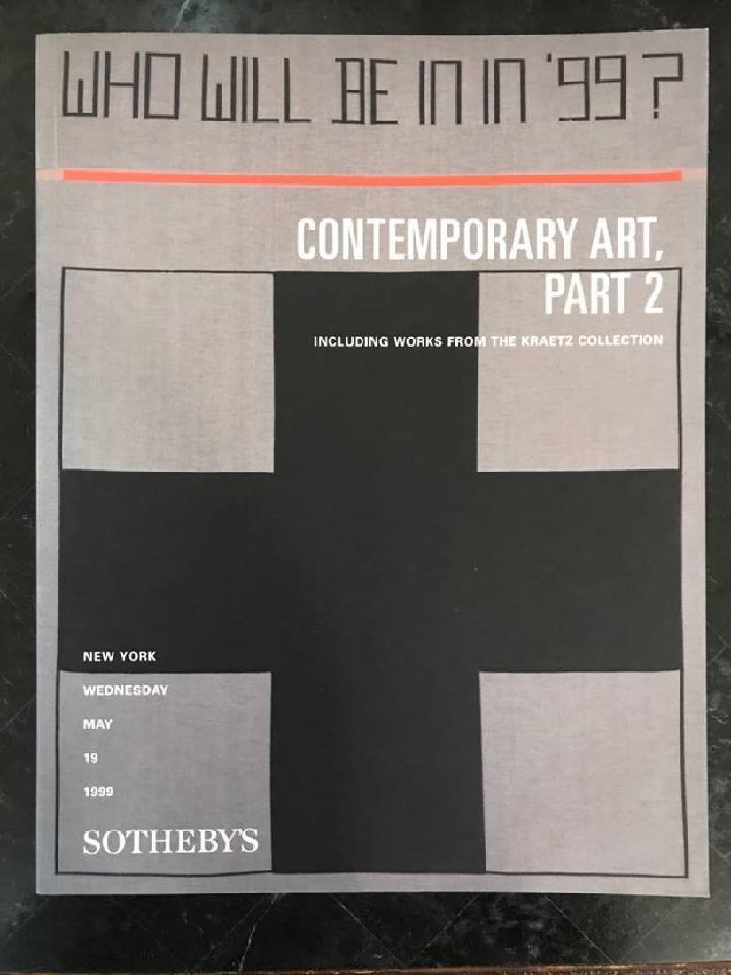 "Sotheby's ""Contemporary Art Part 2"""