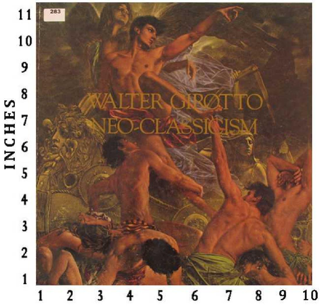 Art Book Liquidation Sale Walter Girotto Neo Classicism