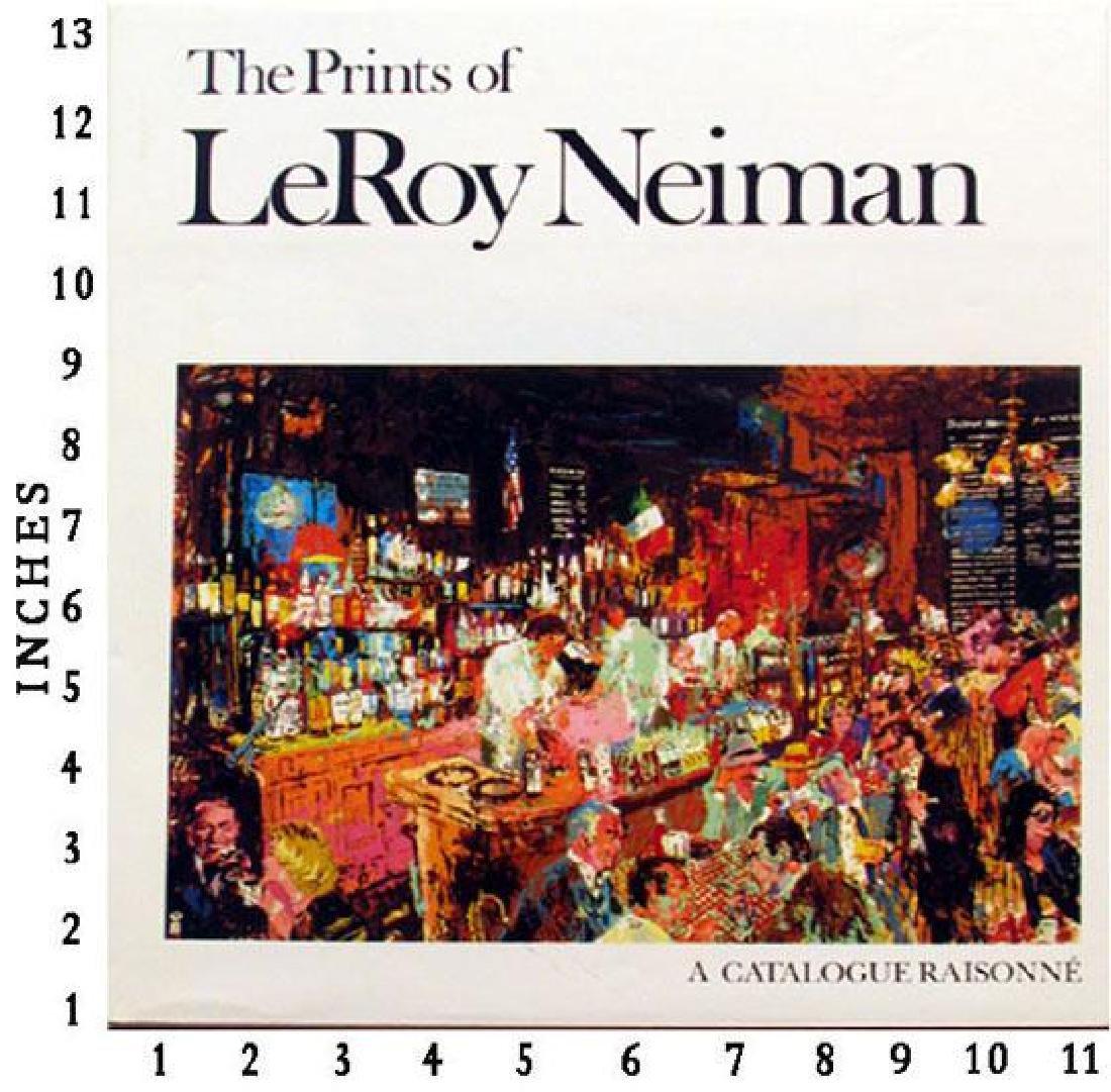 Museum Art Books Leroy Neiman - The Prints Of Leroy