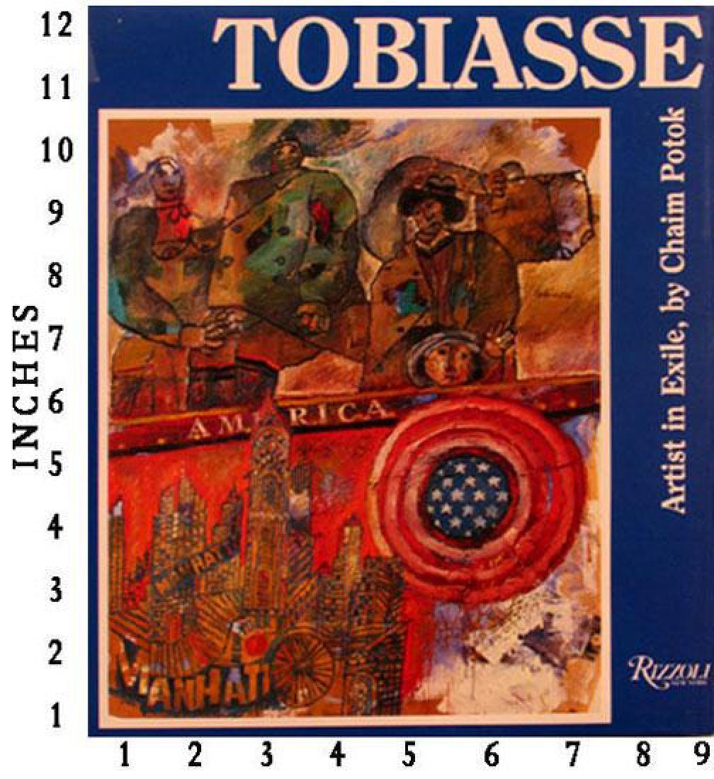 Museum Art Books Theo Tobiasse Artist In Exile 1986