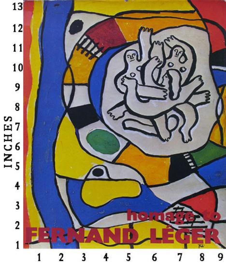 Art Book Liquidation Sale Fernand Leger Homage Art Book