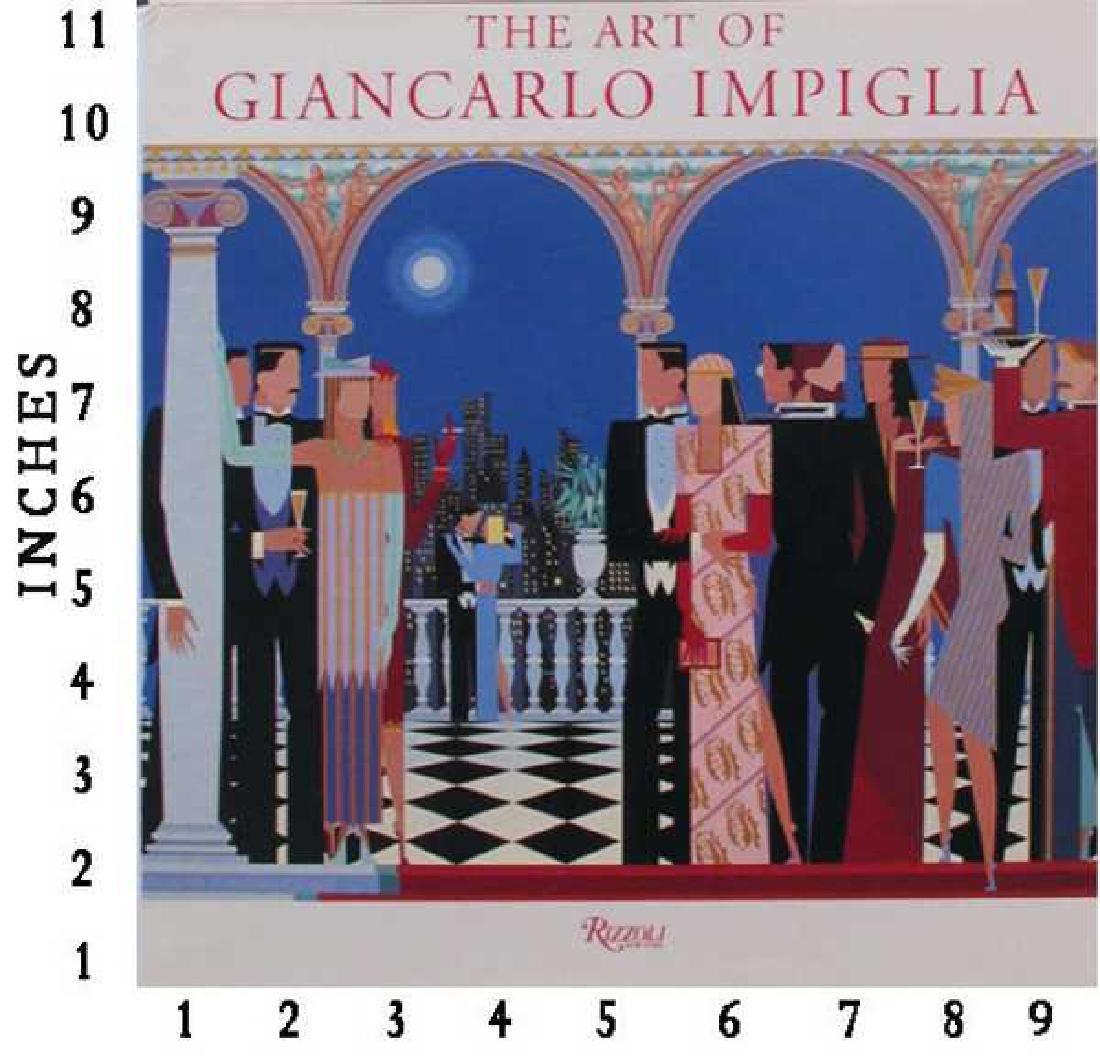 Museum Art Books Giancarlo Impiglia Art Signed Art Book