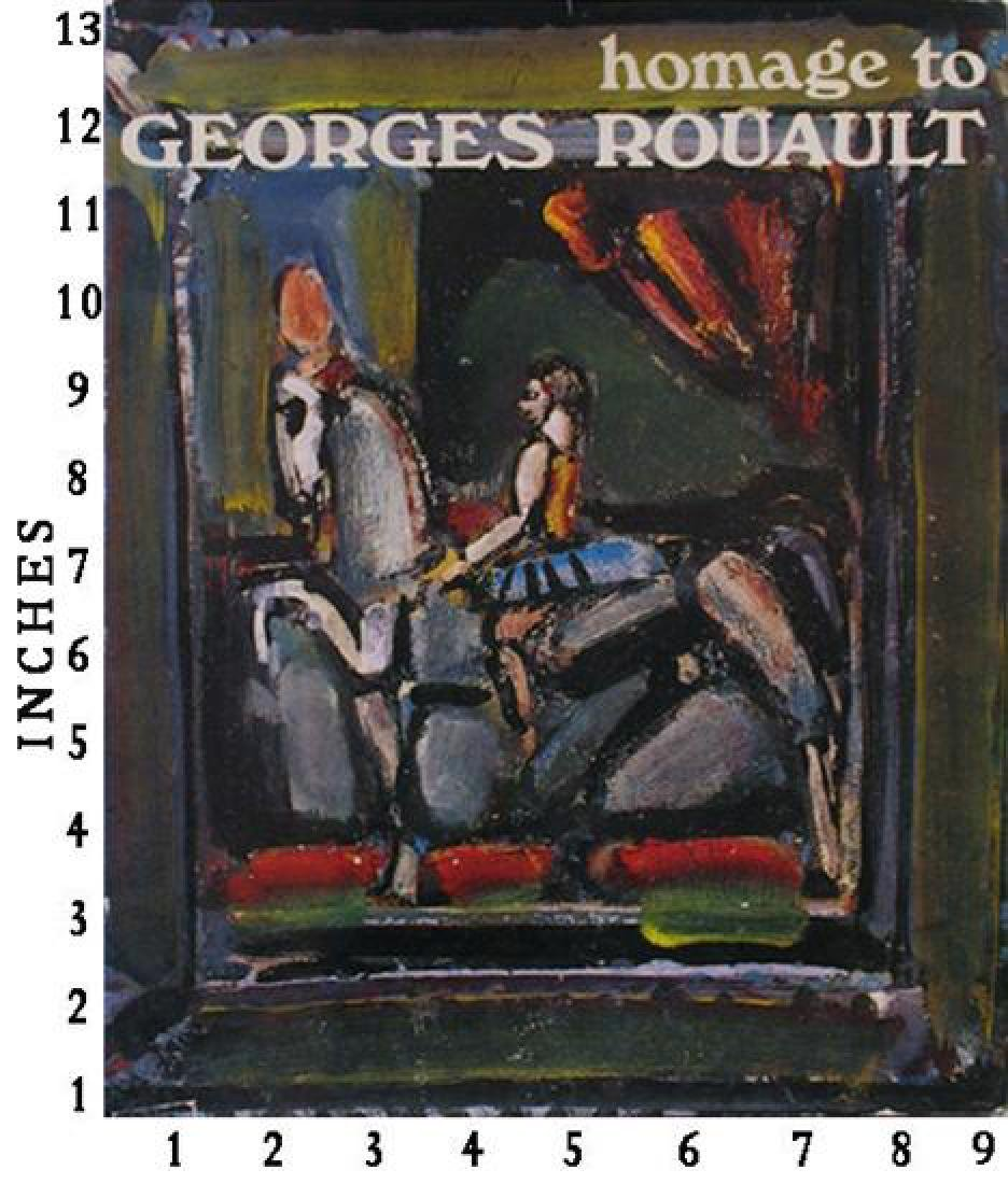 Museum Art Books Georges Rouault Homage #XXE Art Book