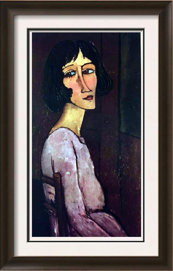 Amedeo Modigliani Portrait of Marguerite c.1917-18 Fine