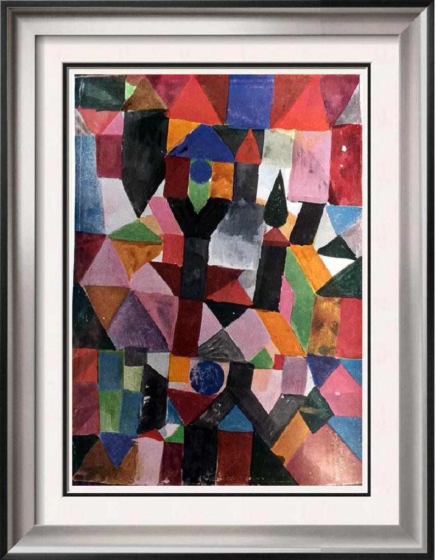 Paul Klee Invention (With the Dovecote) c.1917 Fine Art