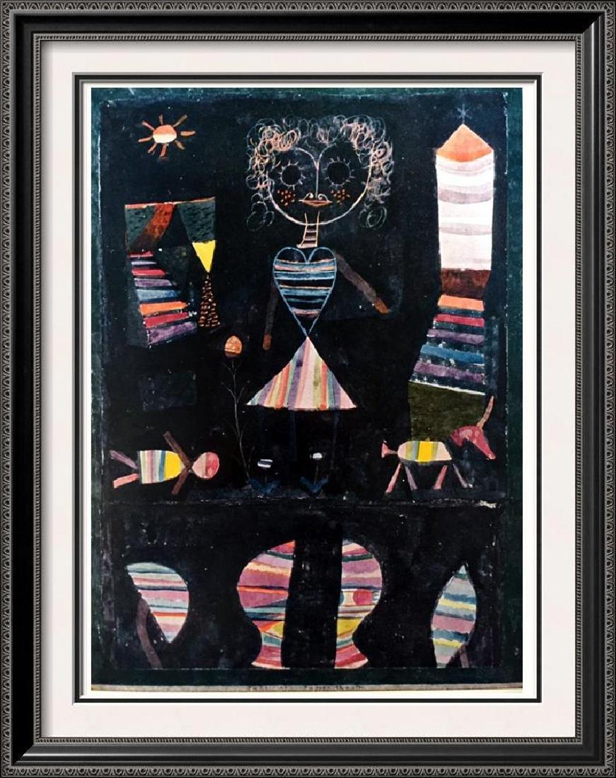 Paul Klee Puppet Show c.1923 Fine Art Print
