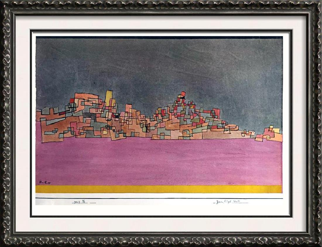 Paul Klee City on Two Hills c.1927 Fine Art Print