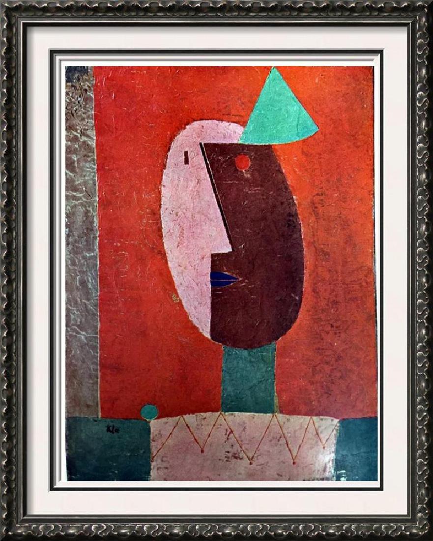 Paul Klee Clown c.1929 Fine Art Print Signed in Plate