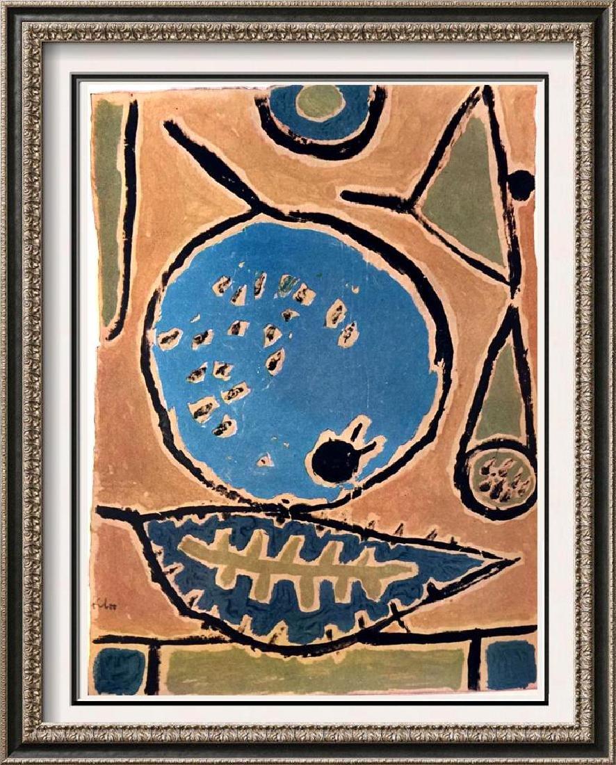 Paul Klee Coelin Fruit c.1938 Fine Art Print Signed in