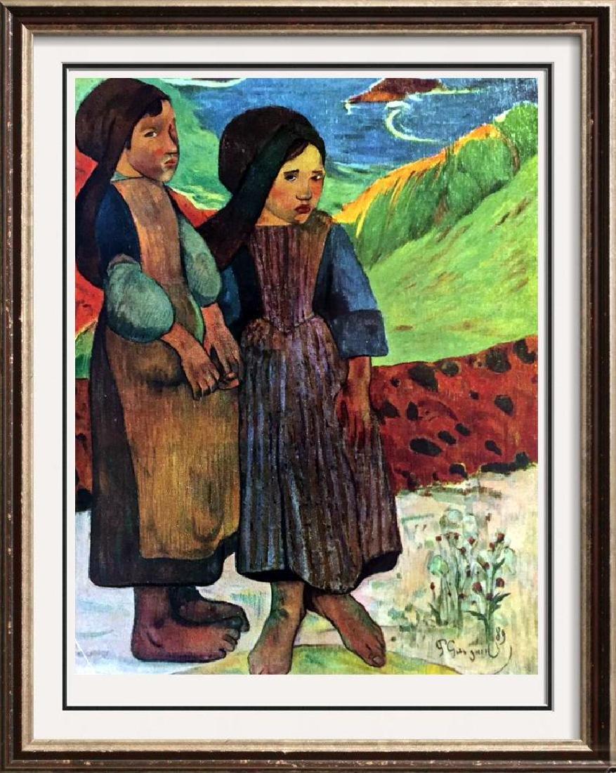 Gauguin, Paul Bretonnes Au Bord De L'Eau c.1889 Fine