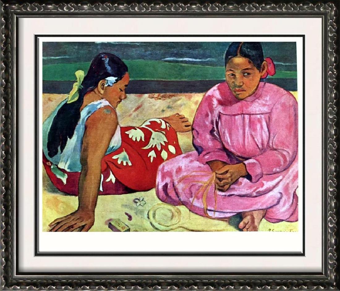 Gauguin, Paul Deus Tahitennes Au Bord De L'Eau c.1891