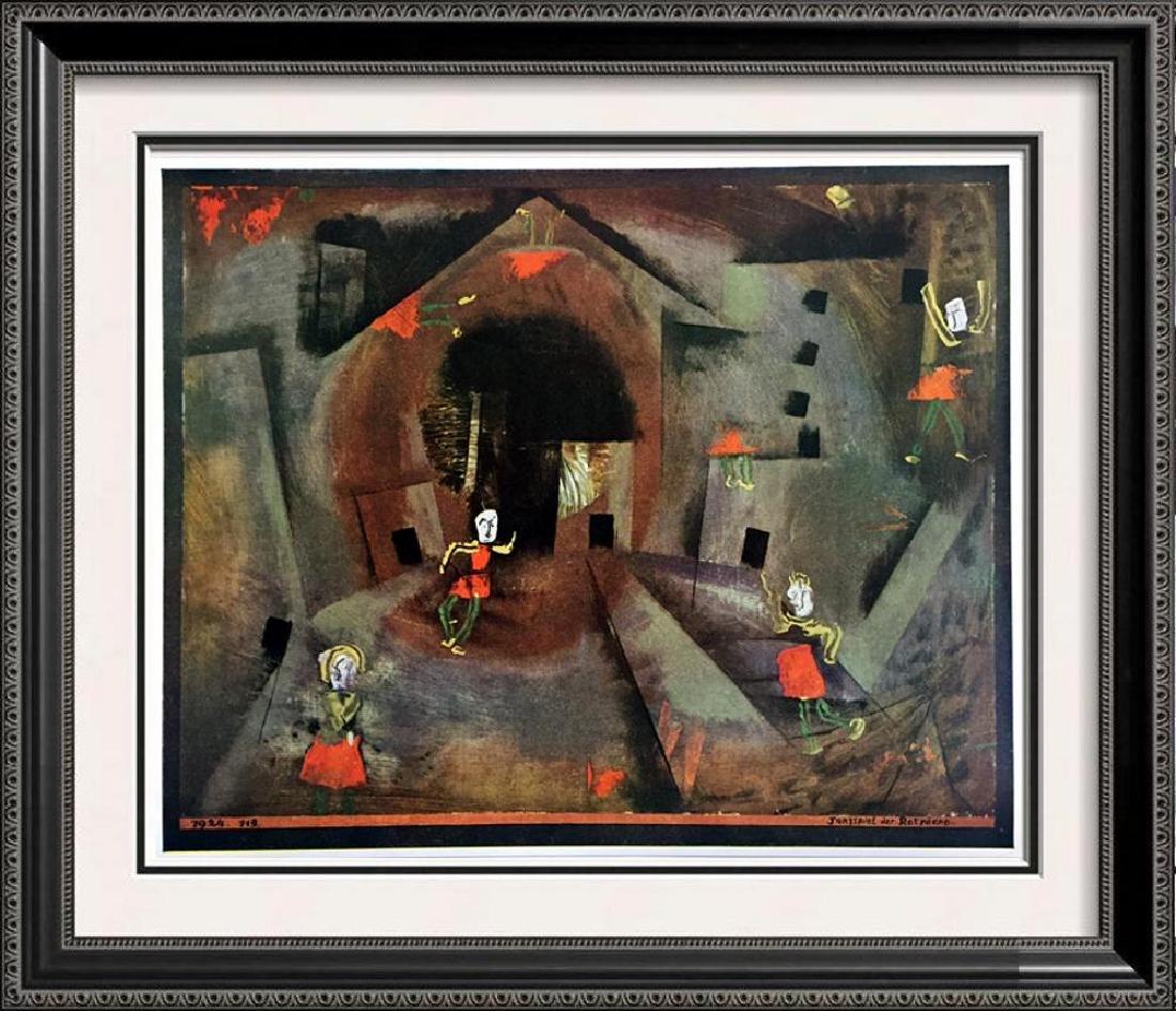 Paul Klee Still Life c.1940 Fine Art Print from Museum