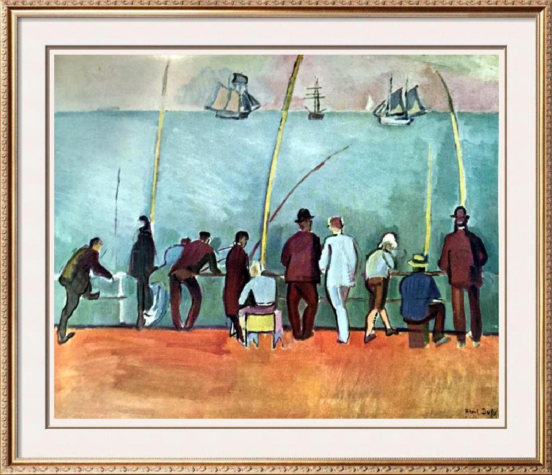 Raoul Dufy Fishermen with Lines c.1908 Fine Art Print