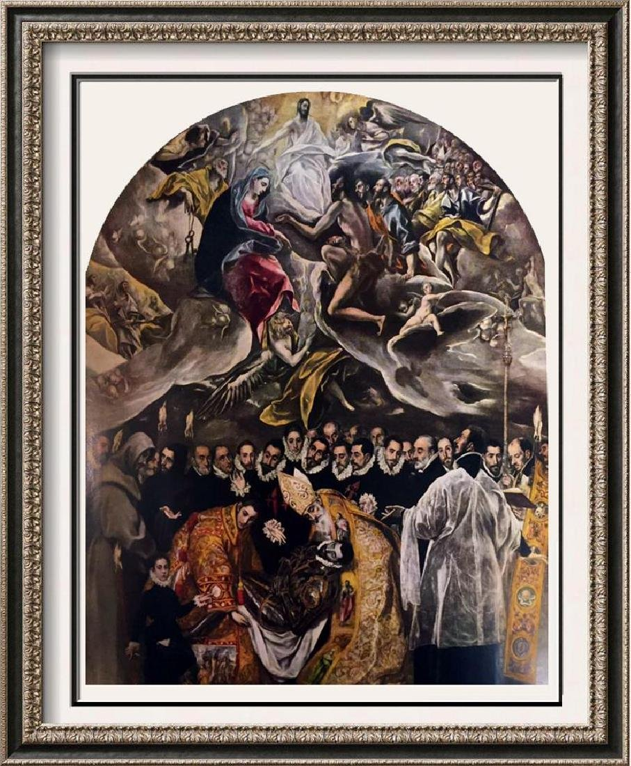 El Greco (Domenicos Theotocopolos) Burial of Count