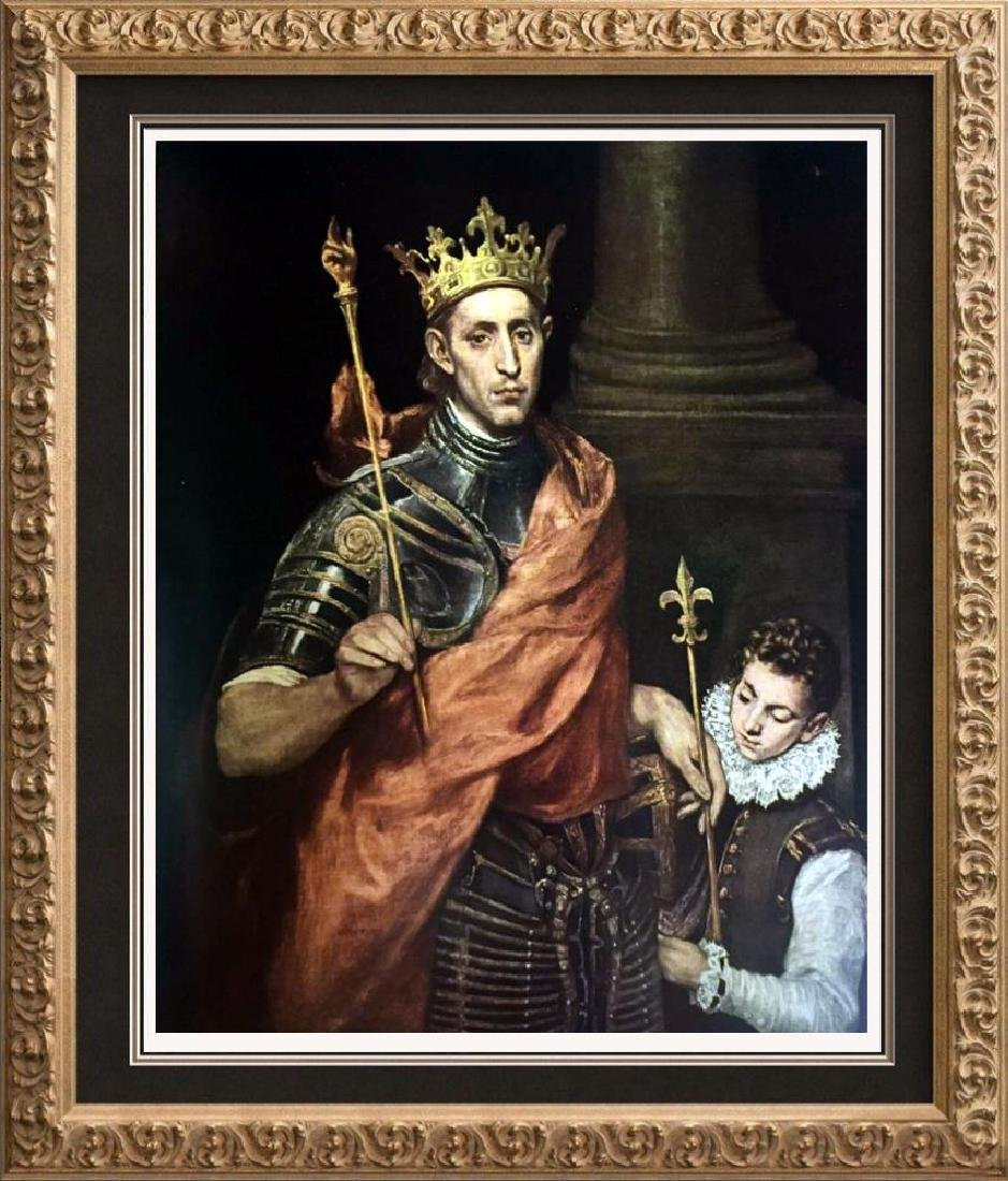 El Greco (Domenicos Theotocopolos) St. Louis, King of