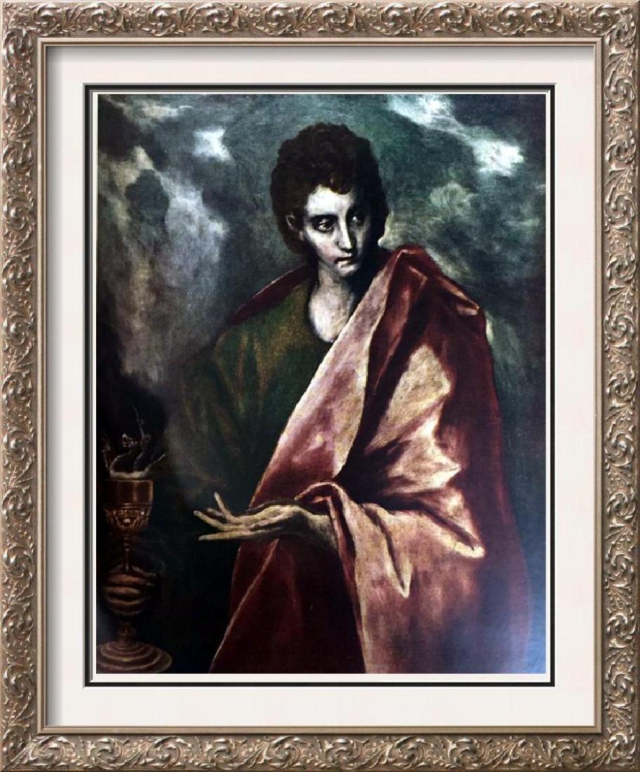 El Greco (Domenicos Theotocopolos) St. John the