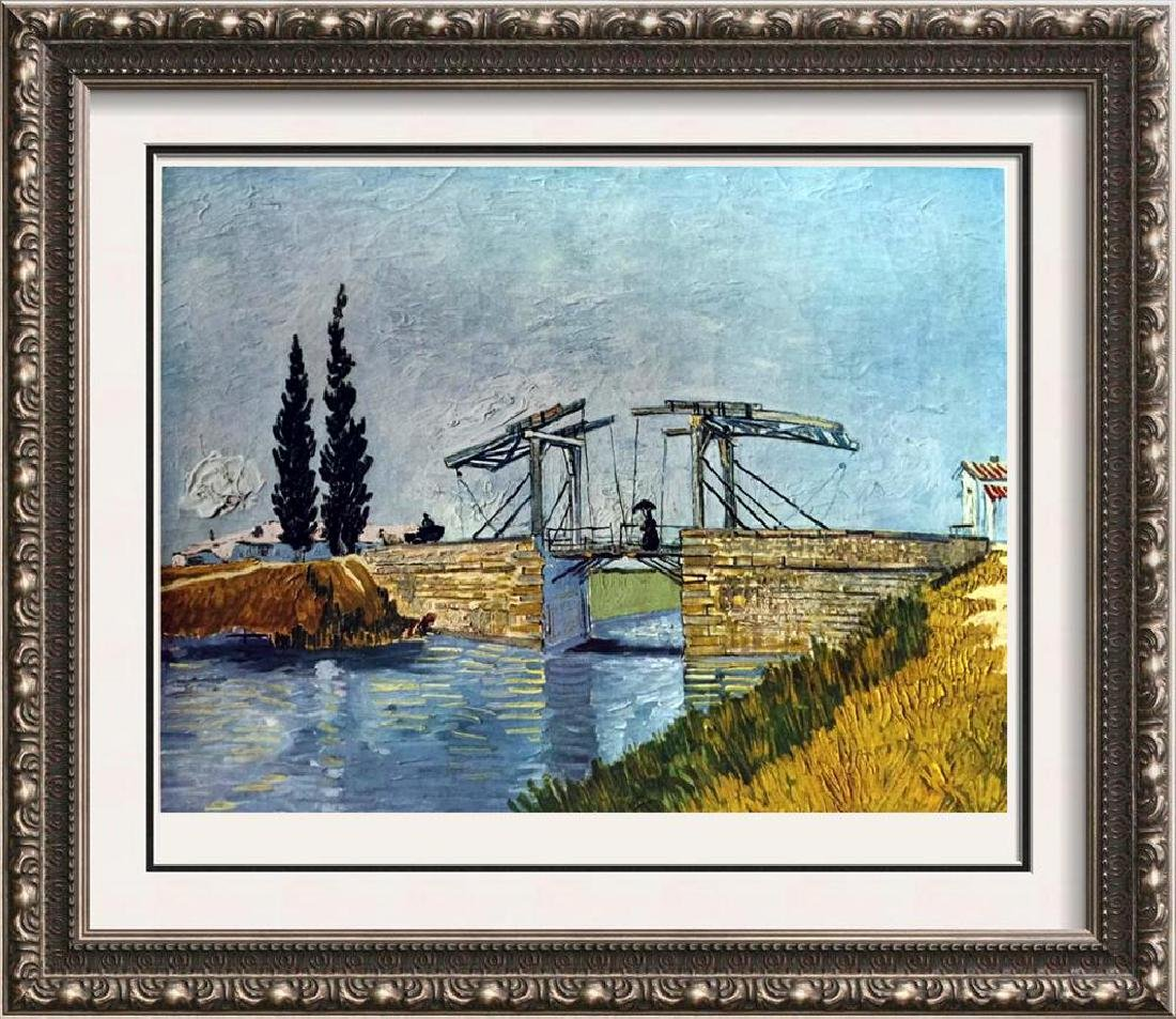 Vincent Van Gogh The Drawbridge c.1888 Fine Art Print