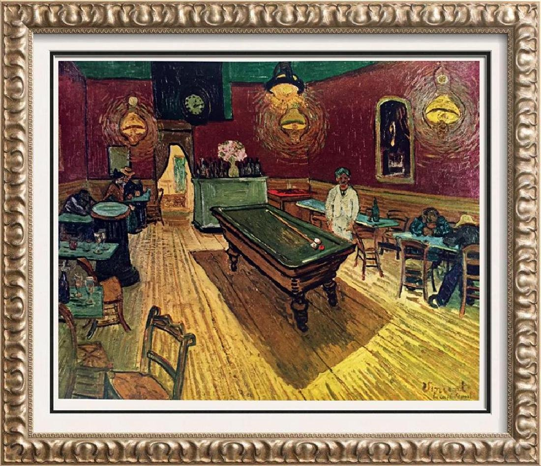 Vincent Van Gogh The Night Cafe c.1888 Fine Art Print
