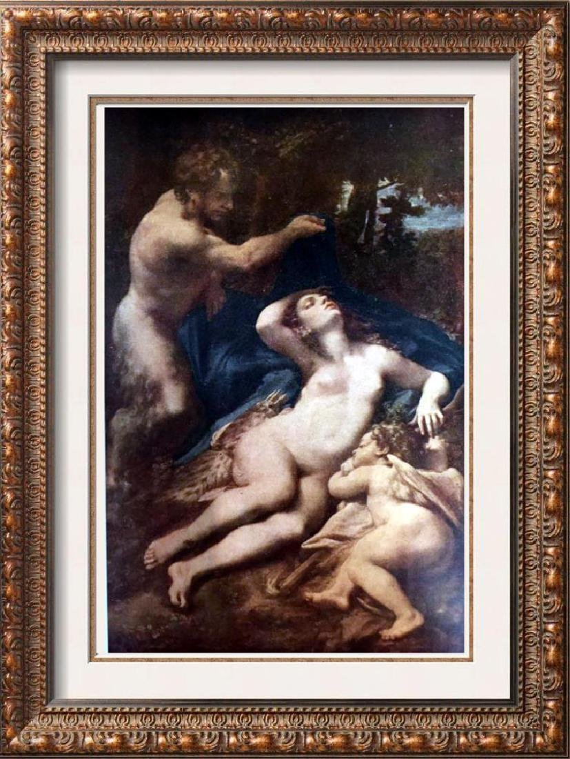 Masterpieces of Italian Paintings Correggio: Jupiter