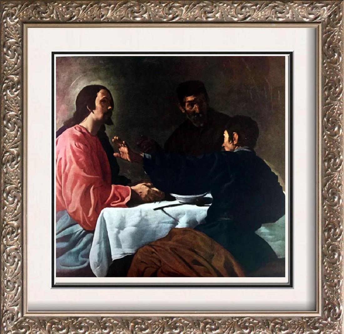 Diego Velazquez Christ and the Pilgrims at Emmaus