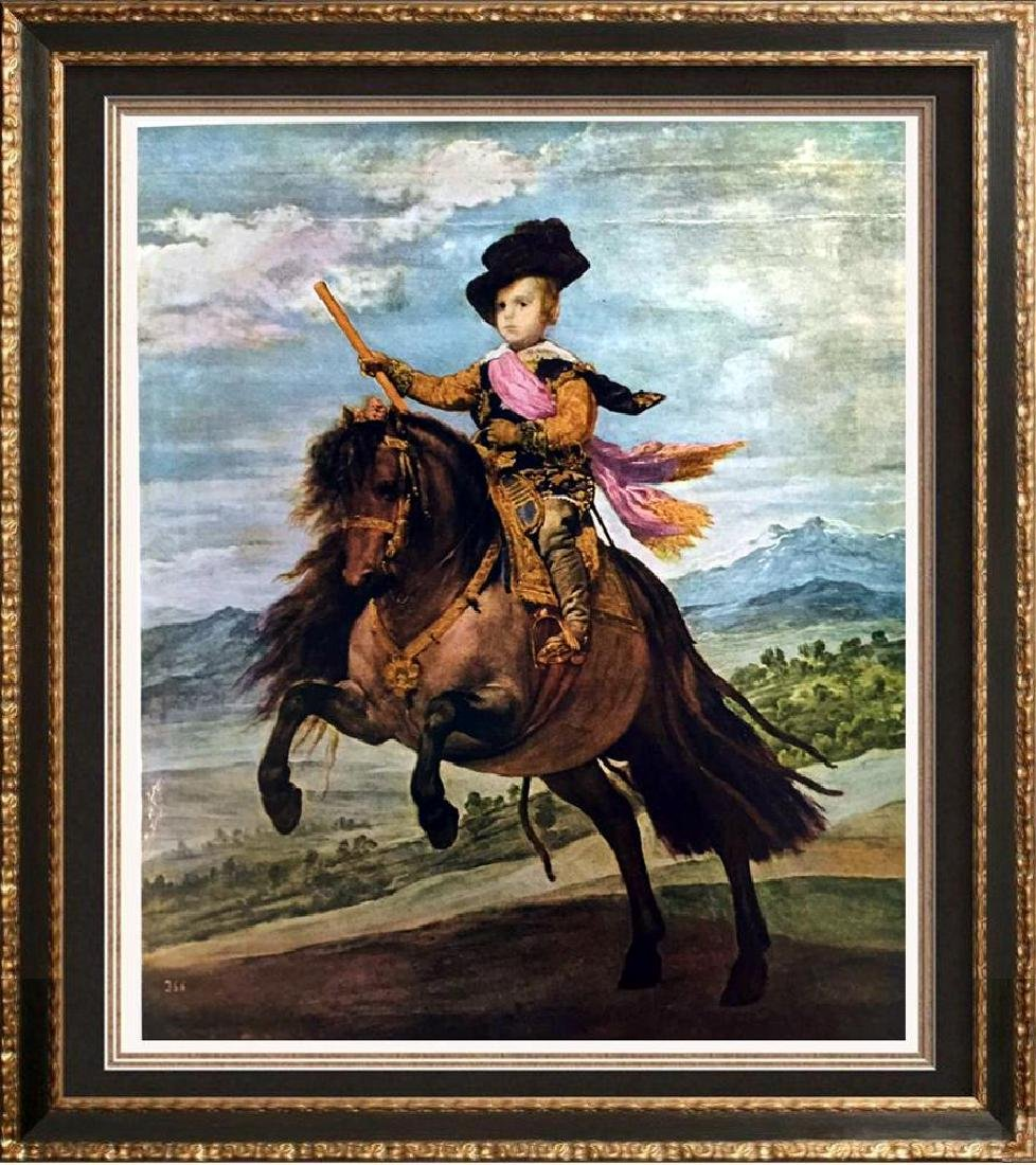 Diego Velazquez Prince Baltasar Carlos on His Pony