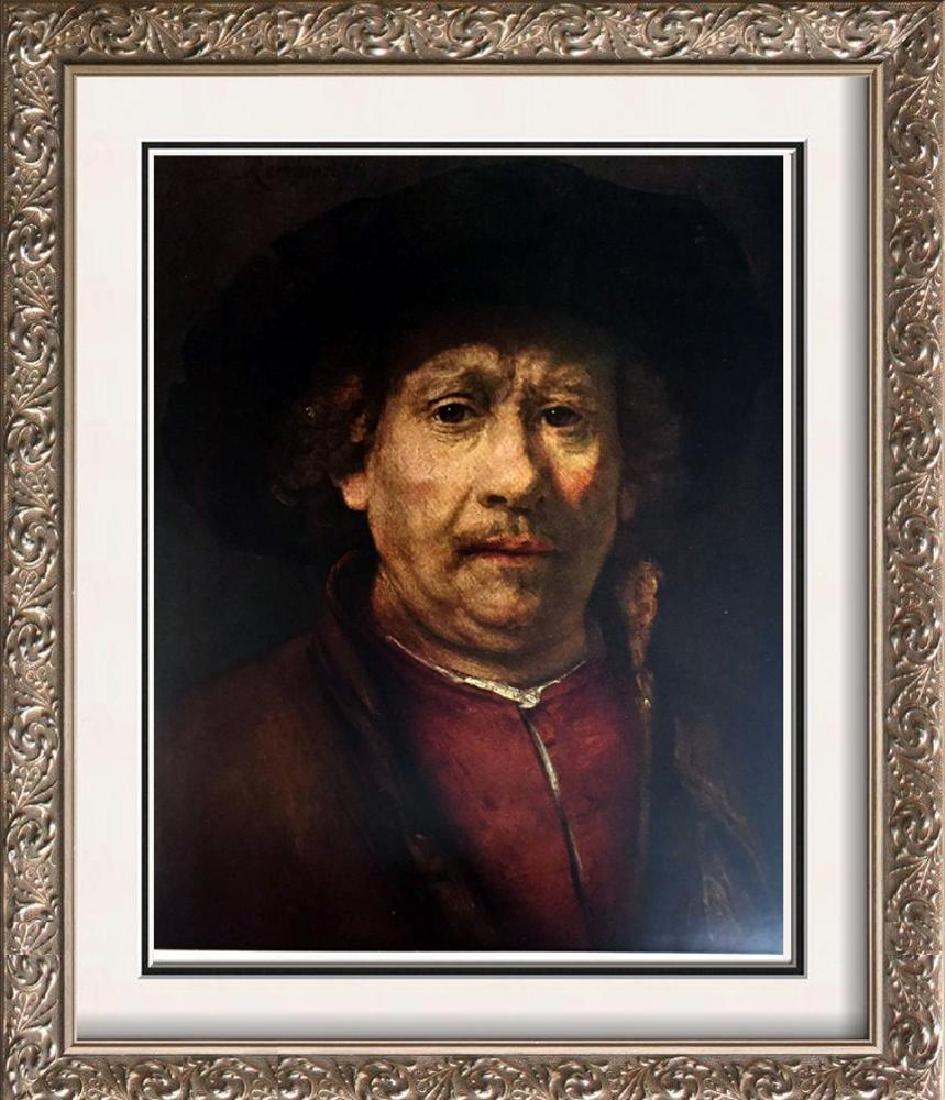 Rembrandt Self-Portrait c.1658 Fine Art Print