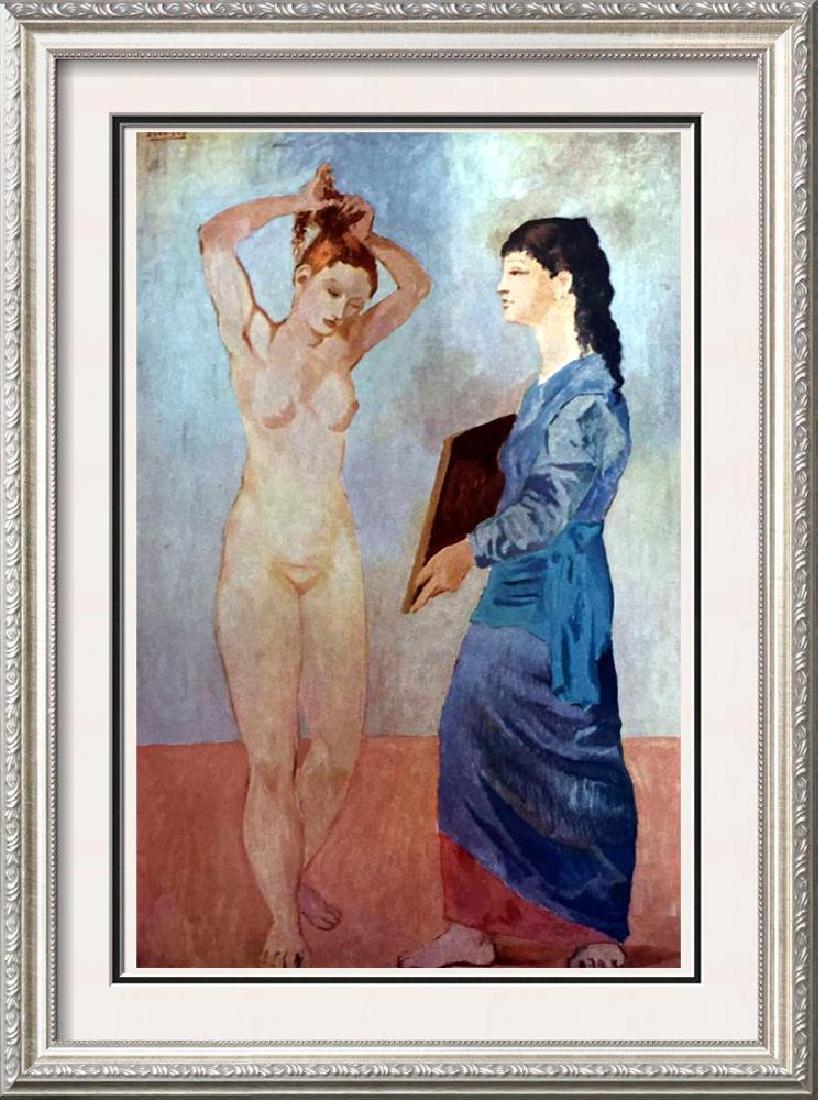 Pablo Picasso La Toilette c.1906 Fine Art Print Signed