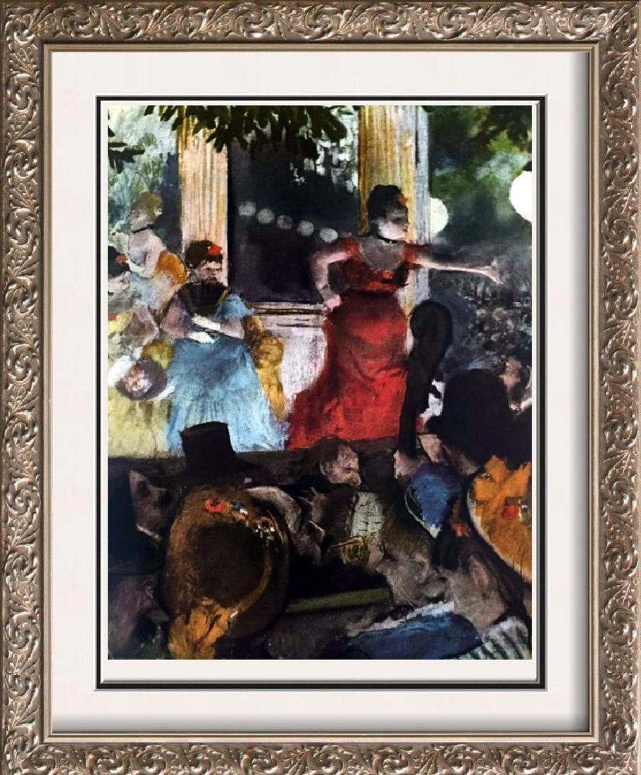 Edgar-Hilaire-Germain Degas Café Concert: At Les