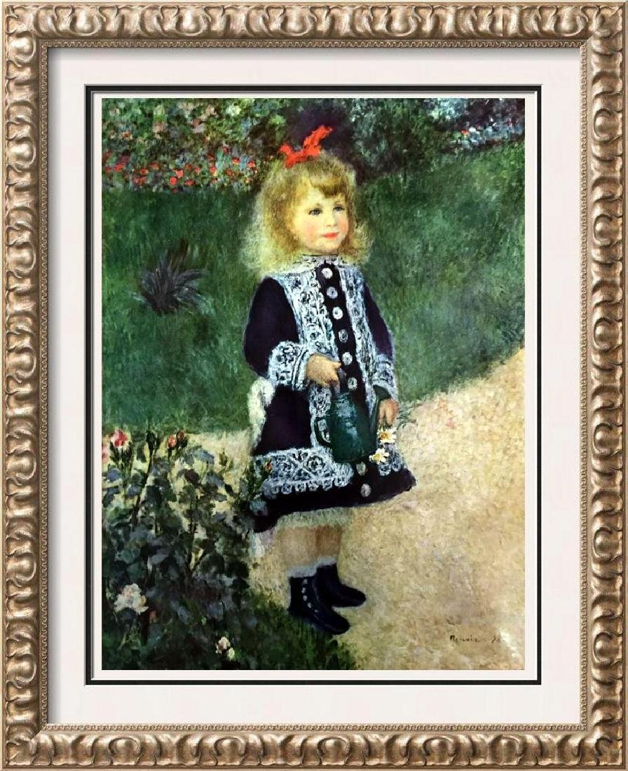 Pierre Auguste Renoir A Girl with a Watering Can c.1876