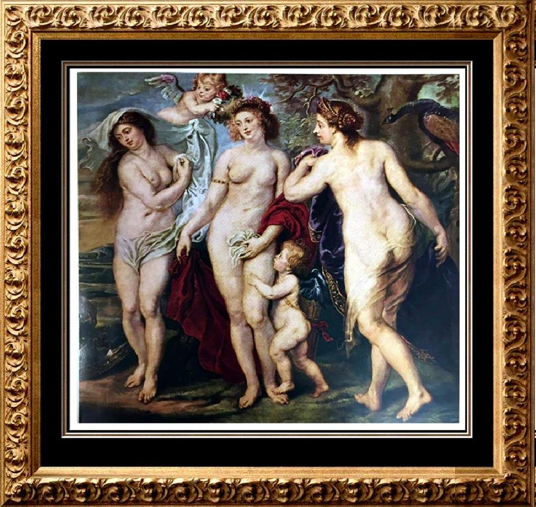 Peter Paul Rubens (Portion of) The Judgment of Paris
