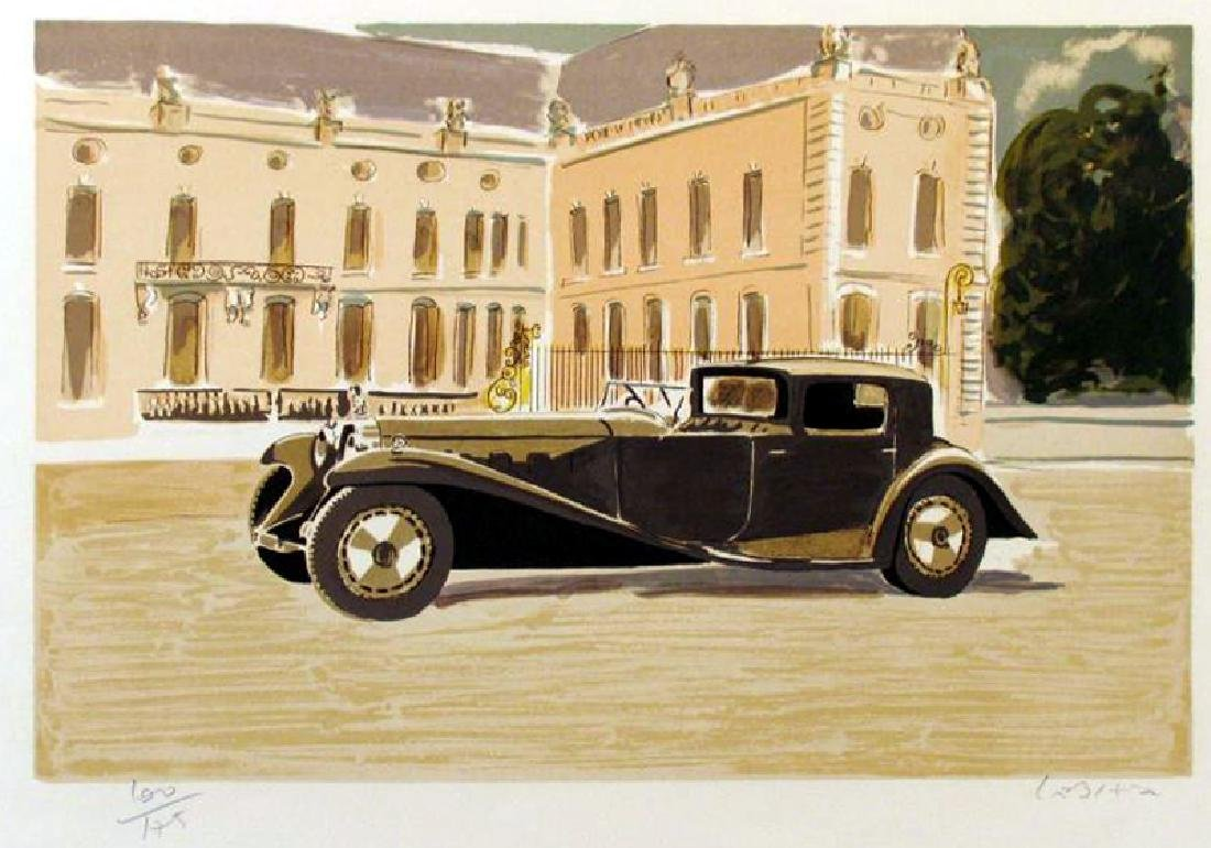 BUGATTI ART DECO ART SALE ONLY $25 LIQUIDATION