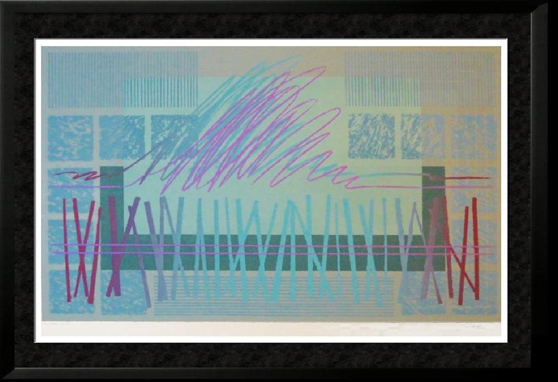 Abstract Modern Ltd Ed Signed Serigraph Huge Sale