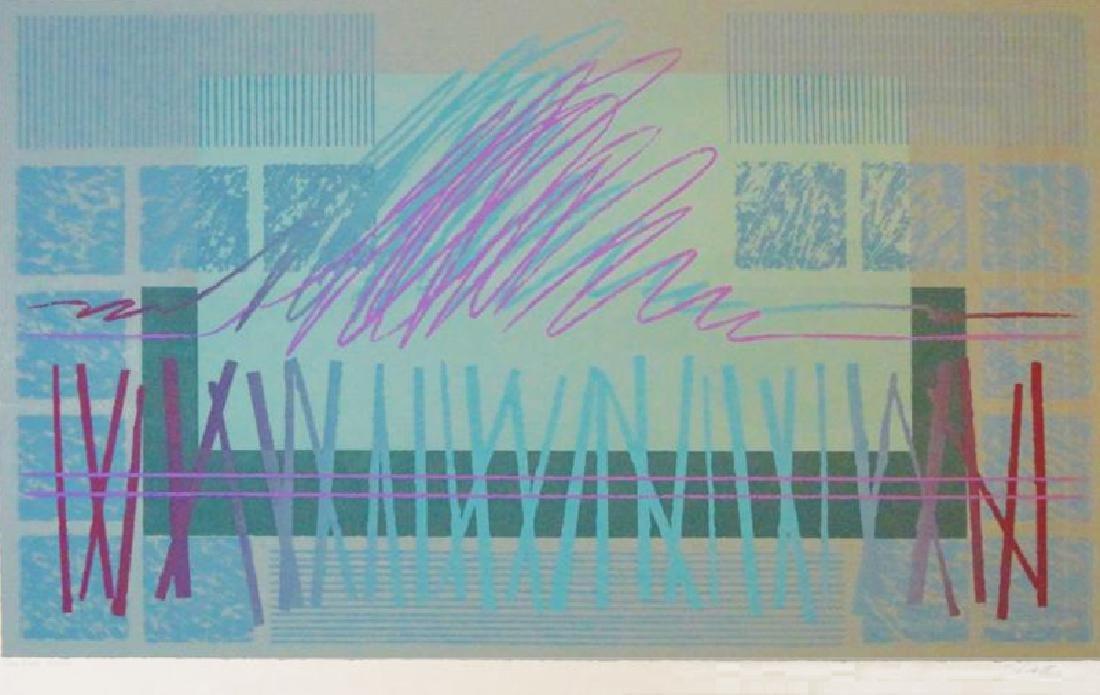 Abstract Modern Ltd Ed Signed Serigraph Huge Sale - 2