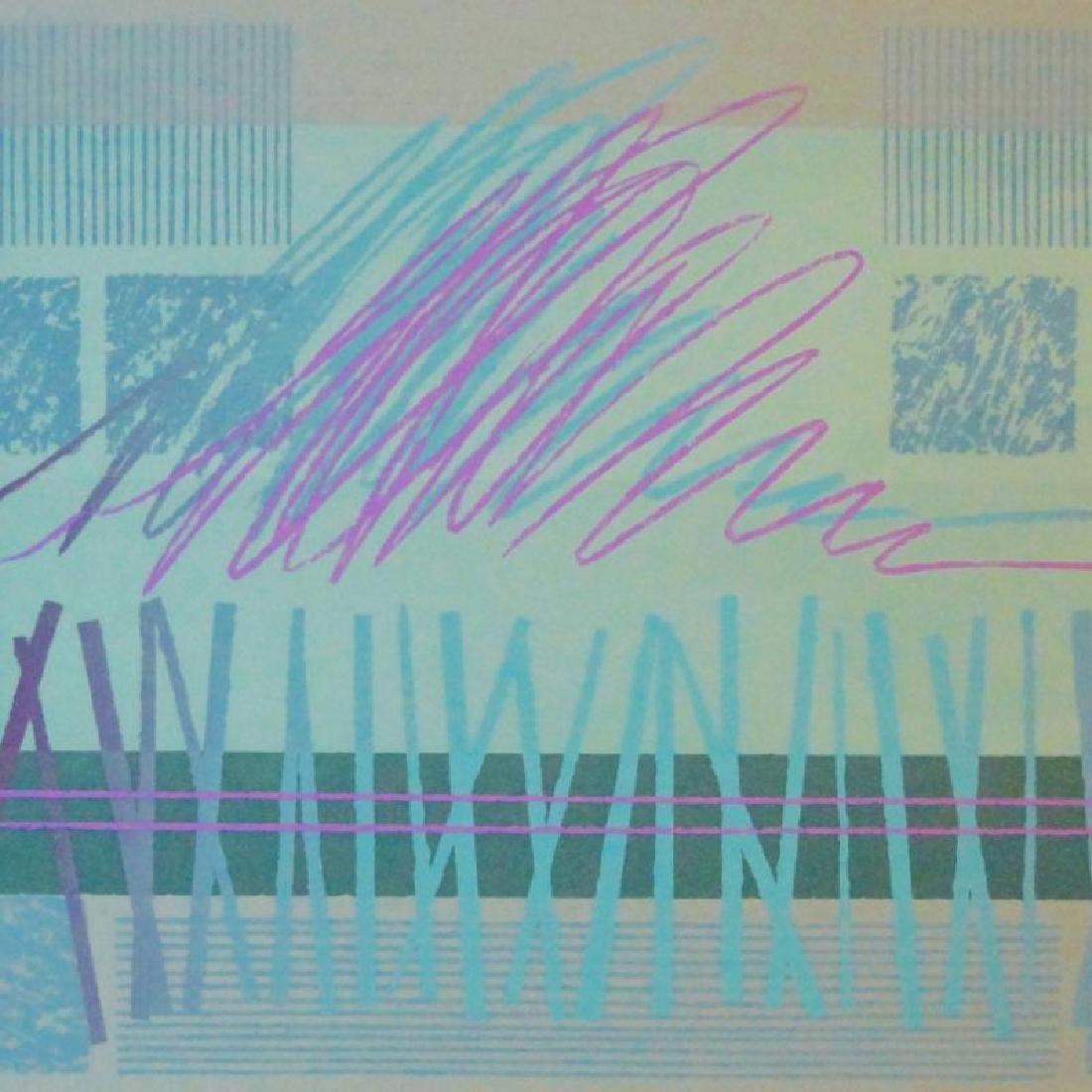 Abstract Modern Ltd Ed Signed Serigraph Huge Sale - 3