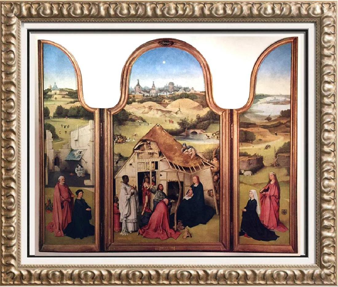 Hieronymus Bosch The Epiphany c.1450-1516 Fine Art