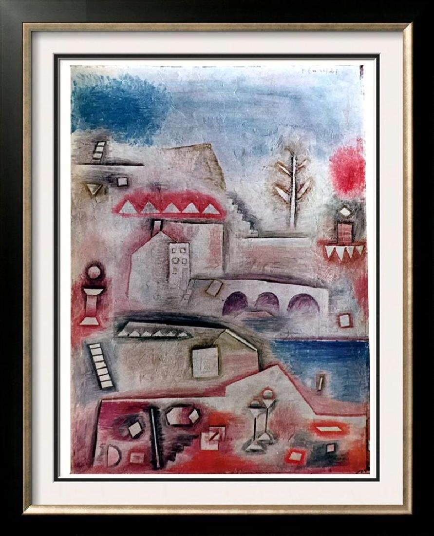 Paul Klee Place of Discovery c.1927 Fine Art Print